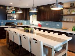 Image of: Large Kitchen Island Ideas with Seating