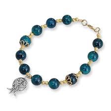 1970s Jewellery Designers Rafael Jewelry Gold Plated Pomegranate Bracelet With Eilat Stones