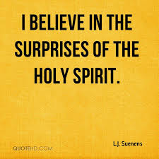 Quotes About The Holy Spirit Simple LJ Suenens Quotes QuoteHD