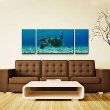 chris doherty maui turtle drifter oversized canvas wall art 3 piece  on oversized canvas wall art cheap with chris doherty maui turtle drifter oversized canvas wall art 3
