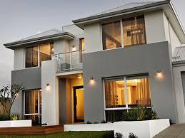 Gray Modern Exterior House Colours