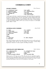 recipe book formats recipe formats morris press cookbooks