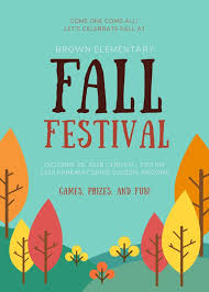 Fall Flyer School Fall Festival Flyer Templates By Canva
