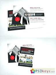 Postcard Templates Free Extraordinary Ideas Real Estate Postcard Templates Free Or Commercial Real Estate