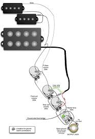 fender precision bass active wiring diagram ewiring bass wiring diagram nilza net