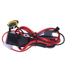 online buy whole wiring harness controller from wiring high quality dc12v 40a h4 relay wiring harness hid xenon conversion light controller socket plugs kit