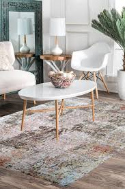 abstract paint modern area rug