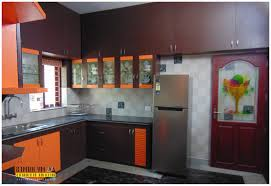 Black N White Kitchens With U Shaped White Wooden Cabinets Black Wooden Laminate