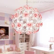 ceramic flower pendant lamps girl s bedroom decoration
