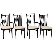italian lacquer furniture. Italian Black Lacquer Dining Chairs For Sale At 1stdibs Furniture