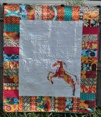 Horse Quilt Pattern Interesting Horse Quilt By Cowgirlquilts Quilting Ideas Find Out More About