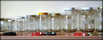 Mason jars and lids