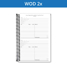 Daily Workout Journal Create The Perfect Fitness Journal Training Log Or