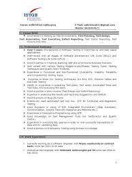 Software Testing Resume Samples For Experienced Software Testing Resume Samples For Experience Rimouskois Job Resumes 4