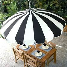 gallery of modern black and white striped outdoor umbrella the mebrure interesting patio awesome 8
