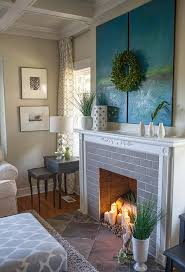 excellent awesome fireplace candle decoration in fireplace candle ideas ordinary