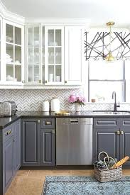 gray kitchen countertops dark grey quartz on trend pairing natural stone and