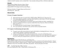 Electronic Technician Resume Objective Kiolla Com