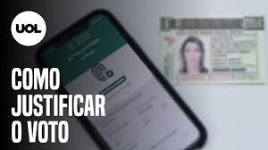 Como justificar o voto pelo aplicativo do celular e outras maneiras -  13/11/2020 - UOL Notícias