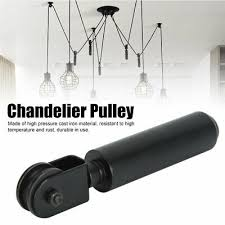 ceiling wire pulley weight bearing rod