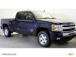 2011 Chevrolet Silverado 1500 LT Extended Cab 4x4 in Imperial Blue ...