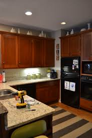 painted brown kitchen cabinets before and after. Exellent Brown Painting Kitchen Cabinets With Chalk Paint U2013 Update With Painted Brown Before And After