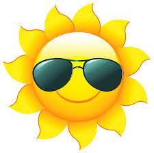 Image result for Summer sunshine clip art