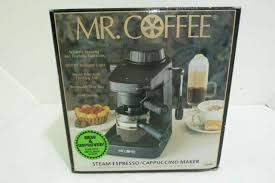 Brews 4 shots of delicious mount type: Mr Coffee Ecm91 Steam Espresso And Cappuccino Maker For Sale Online Ebay