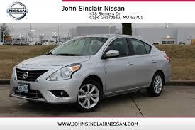 nissan versa tank size used 2017 nissan versa sedan sl silver sedan serving st charles