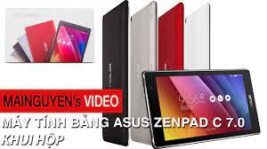 Khui hộp máy tính bảng Asus ZenPad C 7.0 - www.mainguyen.vn - YouTube