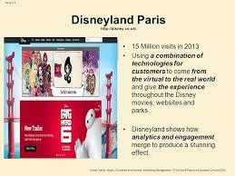 marketing on the internet ppt video online  3 disneyland