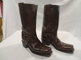 Dingo Boots Size Chart R 0001 Vintage 70s Dingo Mens Leather Cowboy Boots Size 8