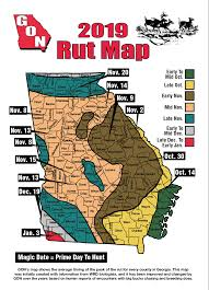 2019 Georgia Rut Map