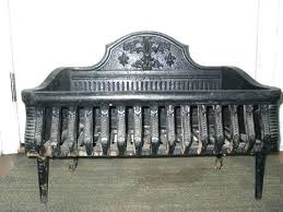 fireplace grate fireplace log grate antique cast iron fireplace grate log coal box mantle insert fireplace grate