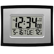 digital office wall clocks digital. Digital Office Wall Clocks Digital. La Crosse Technology Wt-8002u Clock \\ .