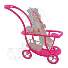 Pink Nursery Baby Stroller New 1 6 Barbie Kelly Doll s House
