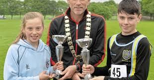 Amelia Kane the home banker in Irish Schools Cross Country Championships at  Mallusk - The Irish News