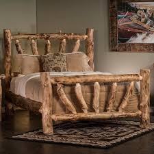 Sunburst Aspen Log Bed