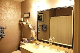 large black framed mirror mirrors for bathrooms hobby lobby round
