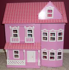 pink dolls house furniture. Lovely Pink Dolls House Complete With Furniture \u0026 Rug Peppa Pig Hello Kitty