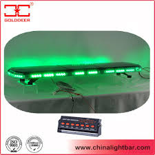 waterproof emergency vehicle lightbar with 22 led modules tbd07526 22a