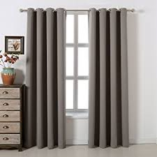grey bedroom curtains. blackout bedroom curtains set 100% polyester grommet top room darkening panels thermal insulating draperies for grey