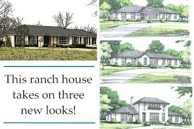 50s ranch style home remodel ranch style homes remodeling ideas best kitchen decoration exterior attractive updating