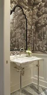 Small powder room design Toilet Enlarge Powder Room Traditional Home Magazine Create Smashing Powder Room Traditional Home