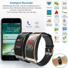 <b>CK11C Smart Bracelet</b> Band Blood Pressure Heart Rate Tracker ...