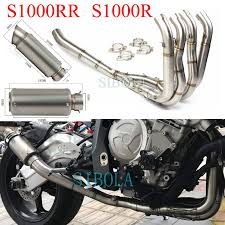 <b>Motorcycle Exhaust Full System</b> SC GP Project <b>Muffler</b> For BMW ...
