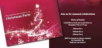 Christmas Program Sample Invitation Christmas Party Istudio Publisher Page Layout