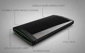 Smartphone Designer New Concept Challenges Smartphone Design With Three Screens