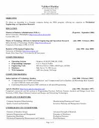 Mba Resume Objective Cover Lettership Resume Objective Engineering Impressive Statement 10
