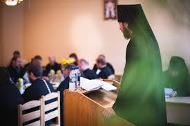 В Московской духовной академии прошли защиты кандидатских  В Московской духовной академии прошли защиты кандидатских диссертаций